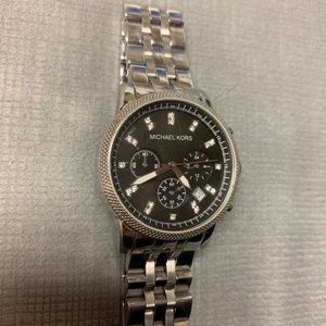 Micheal kors stainless steel watch